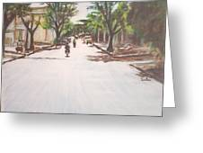 Sunny Road Greeting Card