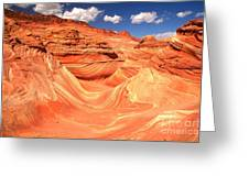 Sunny Skies Over The Wave Greeting Card