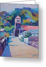 Sunny Soufriere Greeting Card