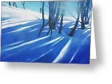 Sunny Traintrip To Hamar Greeting Card