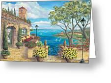 Sunny Villa Greeting Card