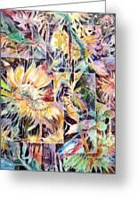 Sunnyflowers Greeting Card