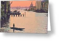 Sunrise - Venice Greeting Card