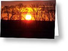Sunrise 5 1 2009 002c Greeting Card