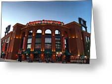 Sunrise At Busch Stadium Greeting Card