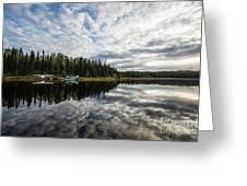 Sunrise At Fish Lake Greeting Card