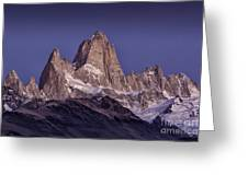 Sunrise At Fitz Roy Patagonia 8 Greeting Card