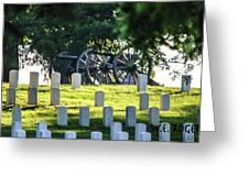 Sunrise At Gettysburg National Cemetery Greeting Card
