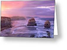 Sunrise At Gibson Steps Greeting Card