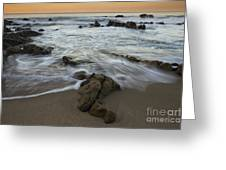 Sunrise At Laguna Beach Greeting Card