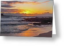 Sunrise At Makapu'u Greeting Card