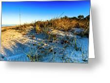 Dawn At Manasota Beach Greeting Card
