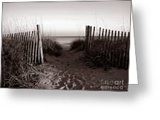 Sunrise At Myrtle Beach Sc Greeting Card