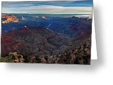 Sunrise At Navajo Point Greeting Card by John Hight