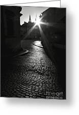 Sunrise At Prague Greeting Card