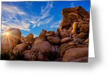 Sunrise At Skull Rock Greeting Card
