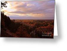 Sunrise At The High Rollaways Greeting Card