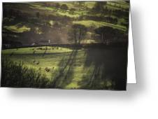 Sunrise At The Sheep Farm Greeting Card