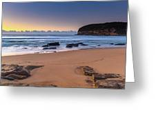 Sunrise By The Seaside Greeting Card