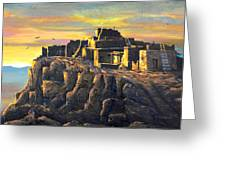 Sunrise Citadel Greeting Card