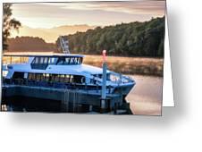 Sunrise Cruise To Doubtful Sound Greeting Card