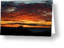Sunrise Drama By The Sea Greeting Card