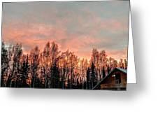 Sunrise Fire  Greeting Card