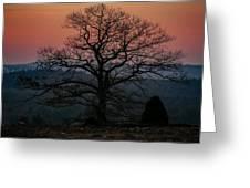 Sunrise From Bolton Ma Greeting Card