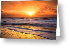 Sunrise Gulf Shores Alabama Beach Greeting Card