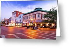 Sunrise In Annapolis Greeting Card