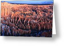 Sunrise In Bryce Canyon National Aprk Greeting Card by Pierre Leclerc Photography