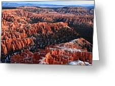 Sunrise In Bryce Canyon Greeting Card
