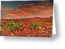 Sunrise In Capitol Reef National Park Utah Greeting Card