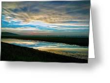 Sunrise In Doniphan Kansas Greeting Card