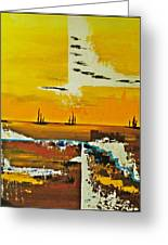 Sunrise In The West Greeting Card