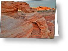 Sunrise In Valley Of Fire State Park Greeting Card