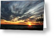 Sunrise Lake Huron 3 Greeting Card