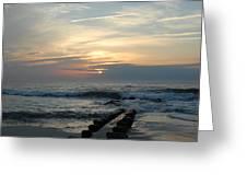 Sunrise Ocean 50 Greeting Card