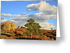 Sunrise On County Road 58 Greeting Card