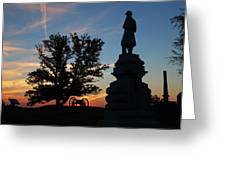 Sunrise On East Cemetery Hill Greeting Card