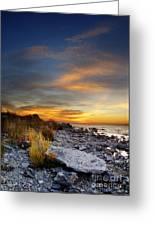 Sunrise On Mackinac Island Greeting Card