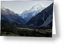 Sunrise On Mt. Cook Greeting Card