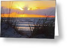 Sunrise On The Atlantic Greeting Card