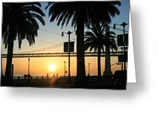 Sunrise On The Bay Greeting Card