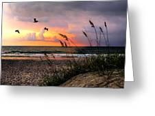 Sunrise On The Beach 02 Greeting Card