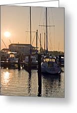 Sunrise On The Eastern Shore Of Maryland Greeting Card