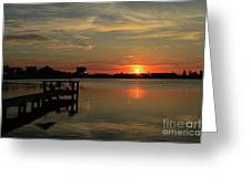 Sunrise On The Halifax Greeting Card
