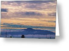 Sunrise On The Highway Greeting Card