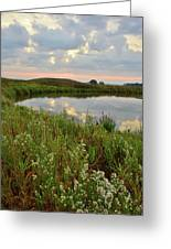 Sunrise On The Nippersink Greeting Card