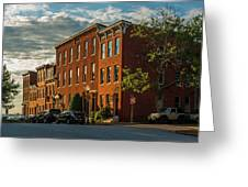 Sunrise Over Federal Hill Greeting Card